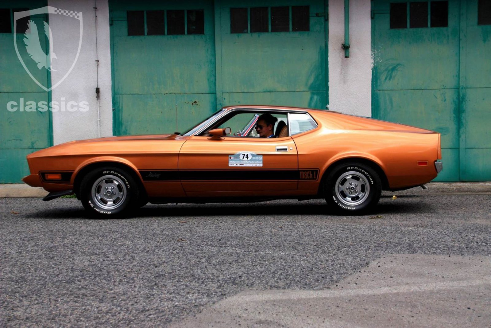 new concept d2772 73400 Ford Mustang Mach 1 (1973)-Classic Group