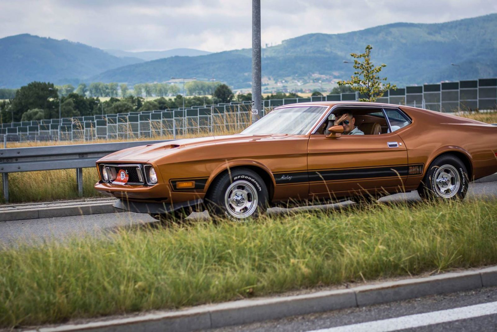 Ford mustang mach 1 1973 classic group