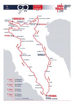 Mille Miglia 2017 1 roadmap