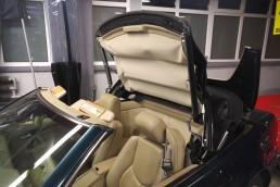 Mercedes R129 regeneracja hydrauliki dachu 3