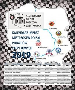 kalendarz mistrzostwa samochodow zabytkowycj